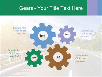 Newly built highway PowerPoint Template - Slide 47