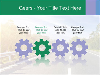 Newly built highway PowerPoint Template - Slide 48