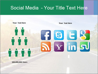 Newly built highway PowerPoint Template - Slide 5