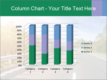Newly built highway PowerPoint Template - Slide 50