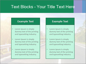 Newly built highway PowerPoint Templates - Slide 57