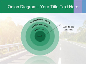 Newly built highway PowerPoint Template - Slide 61