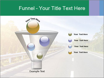 Newly built highway PowerPoint Template - Slide 63