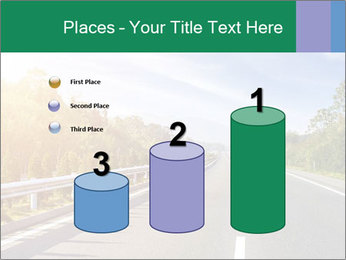 Newly built highway PowerPoint Template - Slide 65