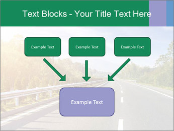 Newly built highway PowerPoint Templates - Slide 70