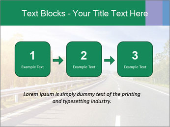 Newly built highway PowerPoint Template - Slide 71