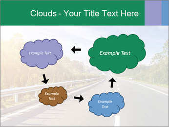 Newly built highway PowerPoint Templates - Slide 72
