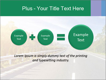 Newly built highway PowerPoint Template - Slide 75