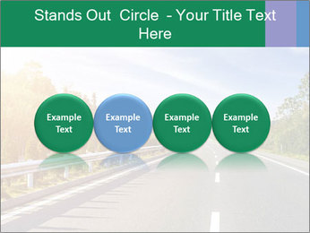 Newly built highway PowerPoint Template - Slide 76
