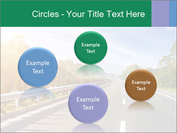 Newly built highway PowerPoint Template - Slide 77