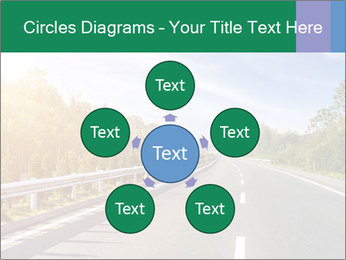 Newly built highway PowerPoint Template - Slide 78