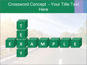Newly built highway PowerPoint Template - Slide 82