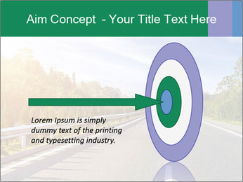 Newly built highway PowerPoint Template - Slide 83