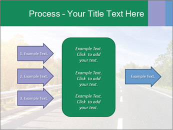 Newly built highway PowerPoint Template - Slide 85