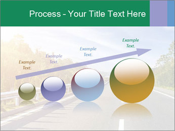 Newly built highway PowerPoint Template - Slide 87