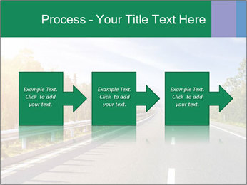 Newly built highway PowerPoint Template - Slide 88
