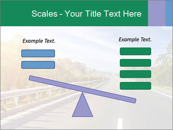 Newly built highway PowerPoint Template - Slide 89