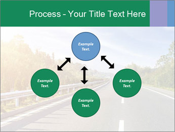 Newly built highway PowerPoint Template - Slide 91