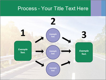 Newly built highway PowerPoint Template - Slide 92