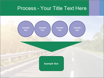 Newly built highway PowerPoint Template - Slide 93