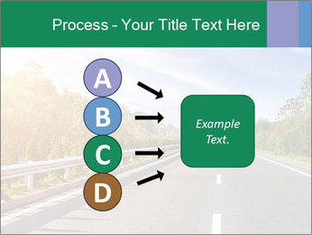 Newly built highway PowerPoint Template - Slide 94