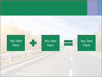 Newly built highway PowerPoint Template - Slide 95