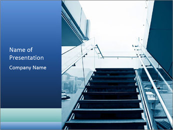 Modern architecture PowerPoint Template - Slide 1