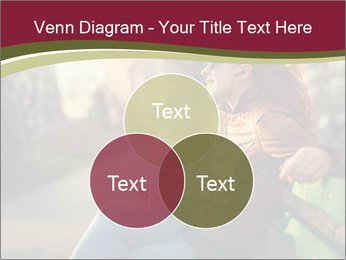 Young woman using a smart phone PowerPoint Template - Slide 33