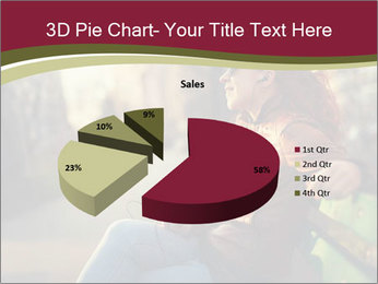 Young woman using a smart phone PowerPoint Templates - Slide 35