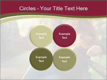 Young woman using a smart phone PowerPoint Templates - Slide 38