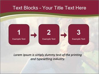 Young woman using a smart phone PowerPoint Templates - Slide 71