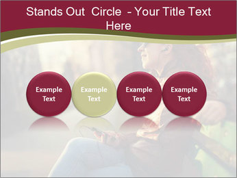 Young woman using a smart phone PowerPoint Templates - Slide 76