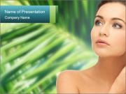 Health and beauty concept PowerPoint Template