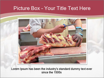 Food industry detail with poultry meat processing PowerPoint Templates - Slide 16