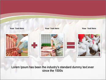 Food industry detail with poultry meat processing PowerPoint Templates - Slide 22