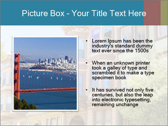 San Francisco Victorian houses PowerPoint Templates - Slide 13