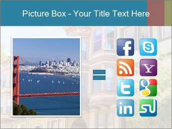 San Francisco Victorian houses PowerPoint Templates - Slide 21