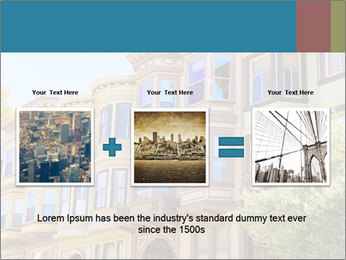 San Francisco Victorian houses PowerPoint Templates - Slide 22