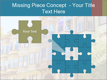 San Francisco Victorian houses PowerPoint Templates - Slide 45