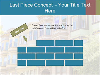 San Francisco Victorian houses PowerPoint Templates - Slide 46