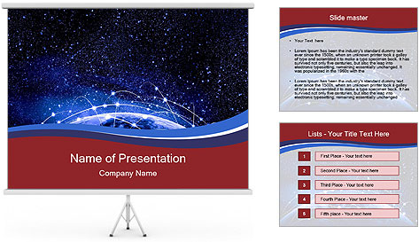 Globalization concept PowerPoint Template