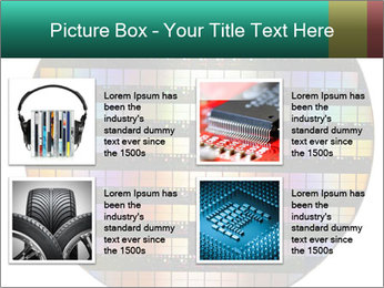 Silicon wafer PowerPoint Template - Slide 14