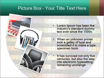 Silicon wafer PowerPoint Template - Slide 17