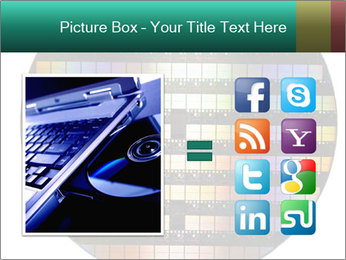 Silicon wafer PowerPoint Template - Slide 21