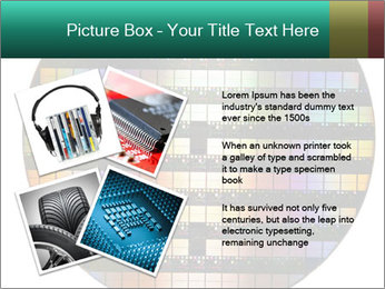 Silicon wafer PowerPoint Template - Slide 23