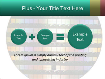Silicon wafer PowerPoint Template - Slide 75
