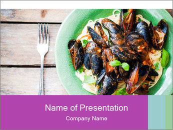 Pasta PowerPoint Templates - Slide 1