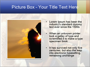 Man and woman at home PowerPoint Template - Slide 13