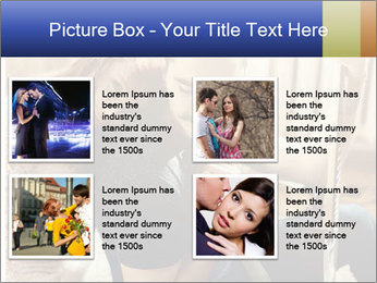 Man and woman at home PowerPoint Template - Slide 14