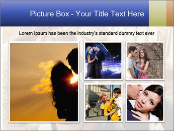 Man and woman at home PowerPoint Template - Slide 19
